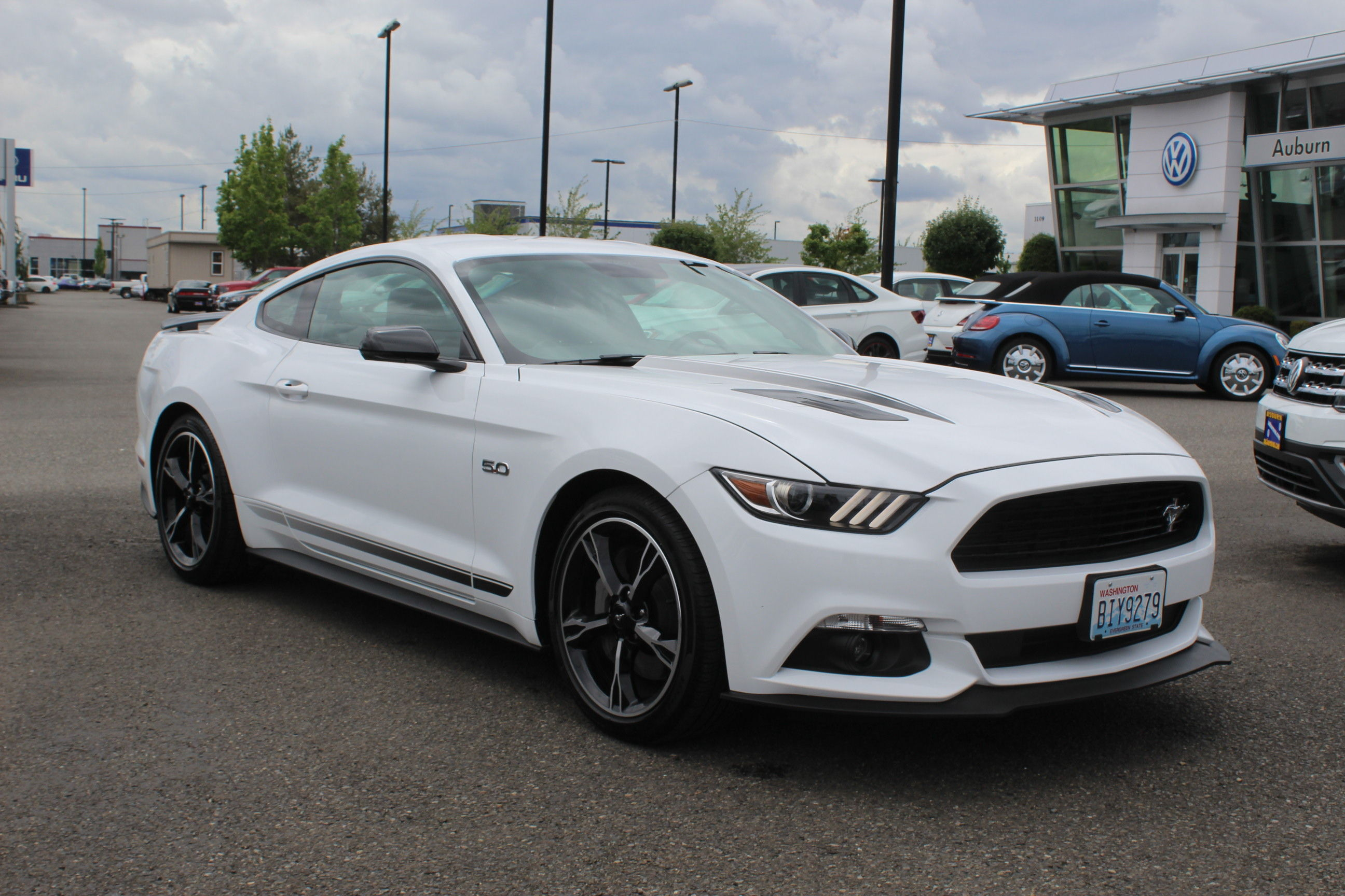 Pre owned 2017 ford mustang gt premium california special rwd 2d coupe