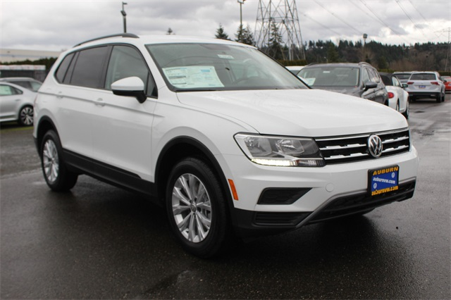New 2019 Volkswagen Tiguan S With 4motion Sport Utility In Auburn