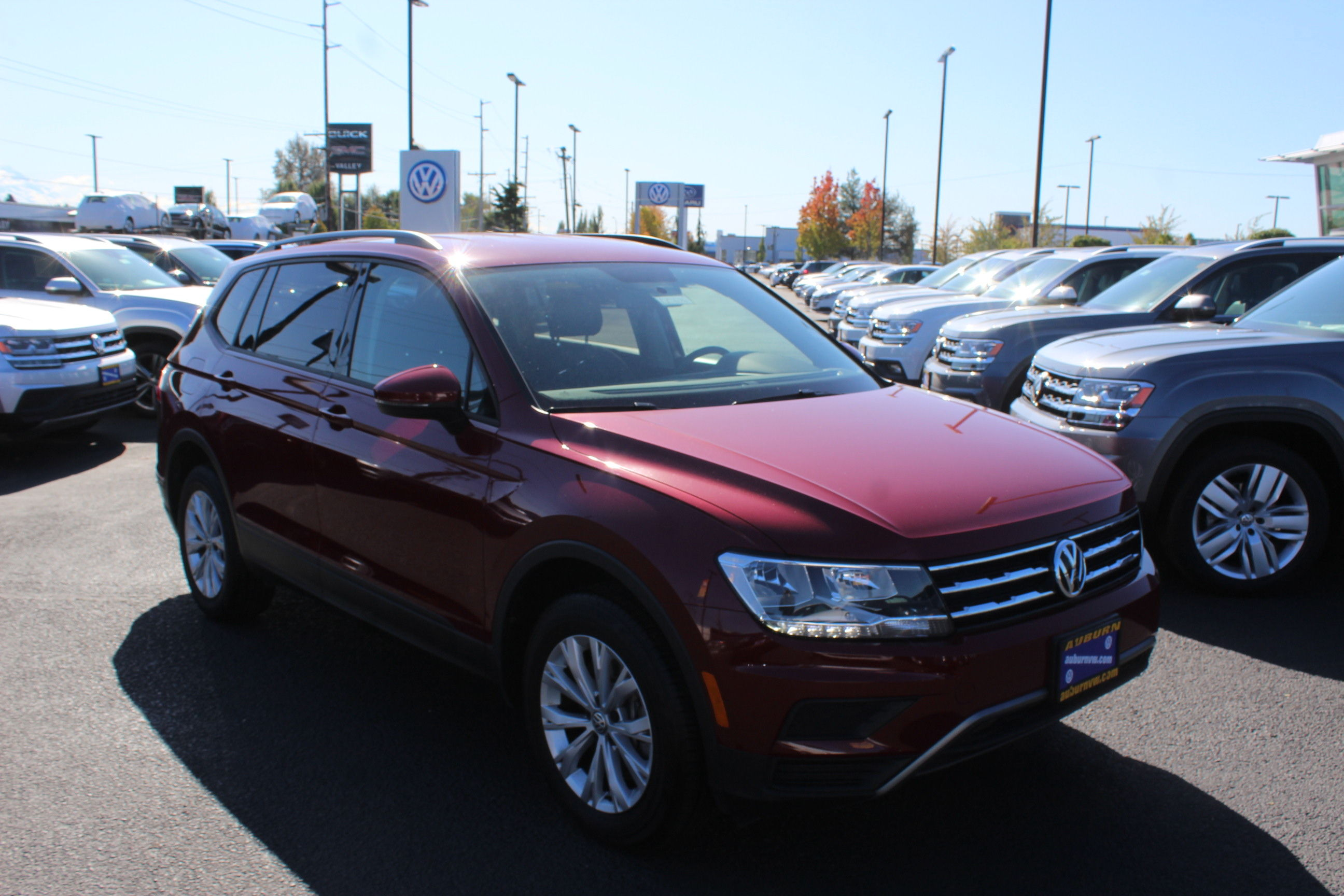 Certified Pre-Owned 2018 Volkswagen Tiguan S 4Motion