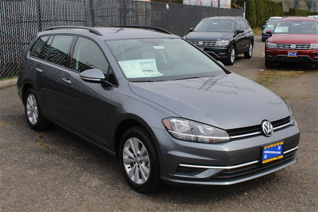 New 2018 Volkswagen Golf SportWagen S 4Motion 4D Wagon in Auburn