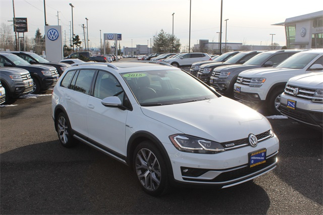 new 2018 volkswagen golf alltrack tsi sel 4motion 4d wagon in auburn