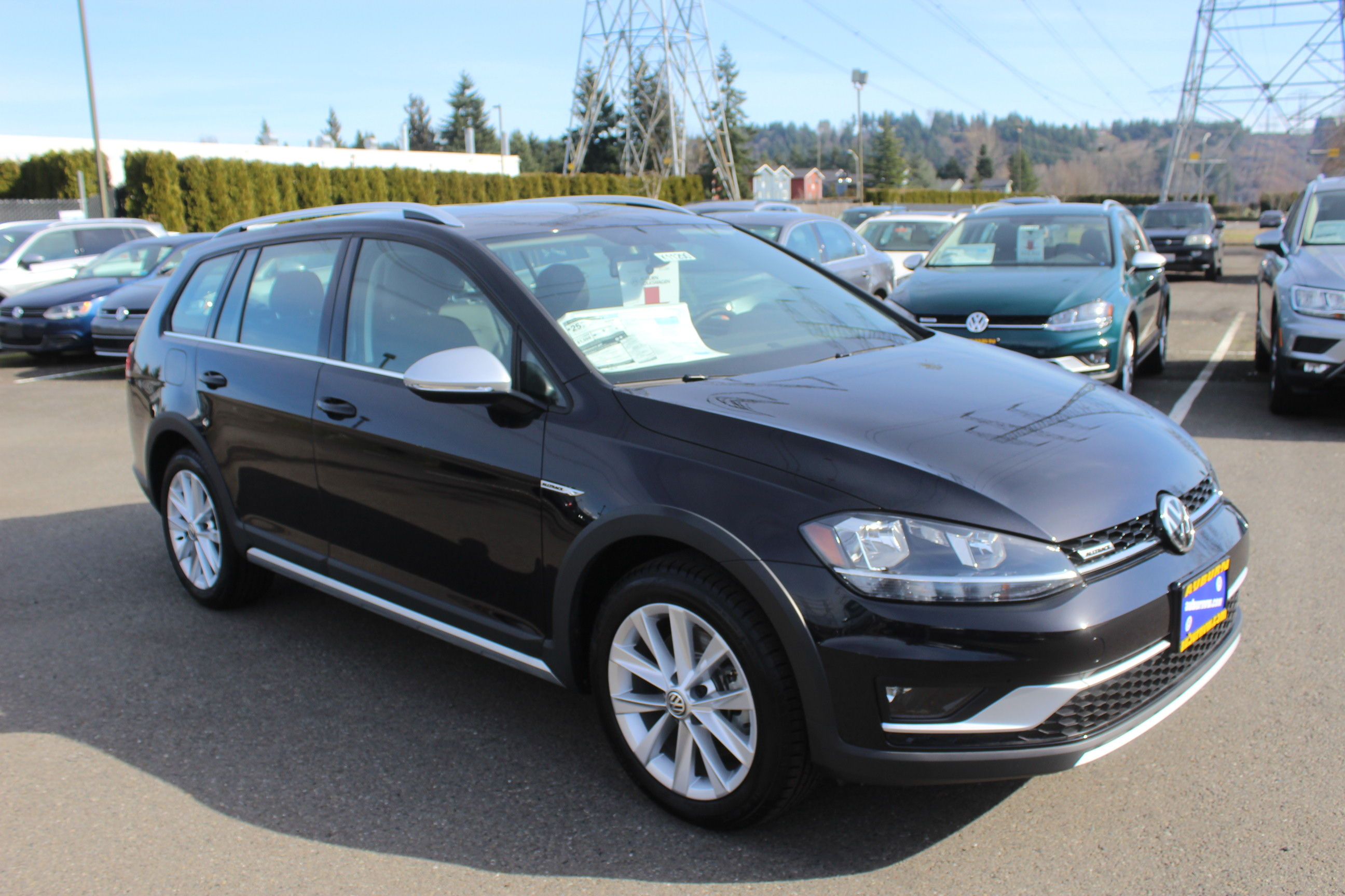 New 2019 Volkswagen Golf Alltrack TSI S 4Motion