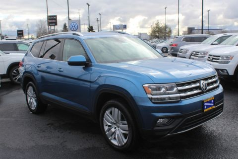 Certified Pre-Owned 2019 Volkswagen Atlas SE w/Technology and 4Motion