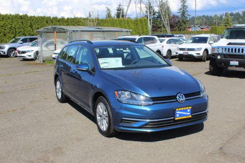 New 2019 Volkswagen Golf SportWagen S 4Motion