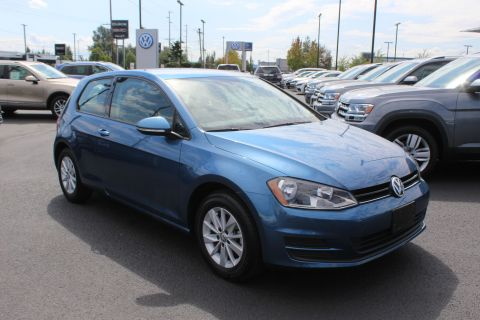 Certified Pre-Owned 2015 Volkswagen Golf TSI S 2-Door