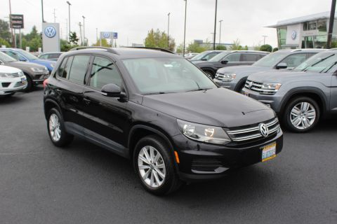 Certified Pre-Owned 2018 Volkswagen Tiguan Limited 2.0T 4Motion